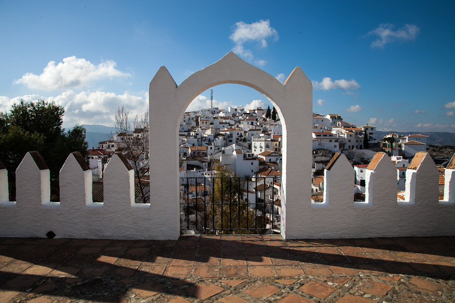 "The famous ""pueblos blancos"" are all around."