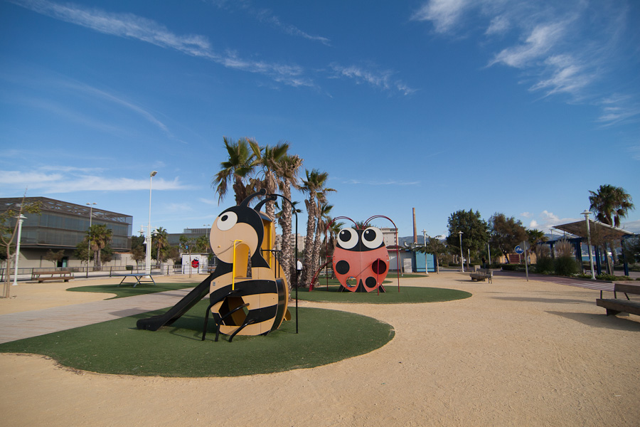 Malaga is 45 minutes away by car and is great for kids.
