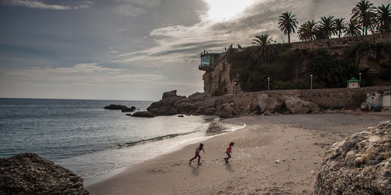 Nerja is famous for it's caves and beaches.